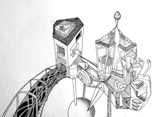 Oene van Geel - Futuristic House