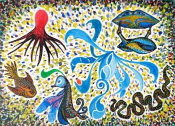 Oene van Geel - Sea Creatures