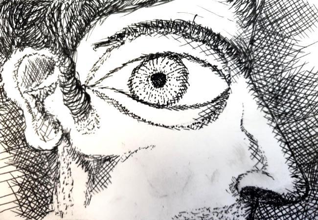Oene van Geel - Self Portrait