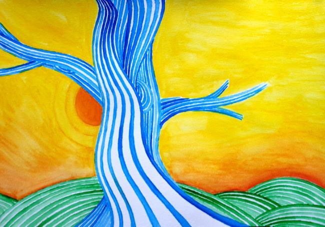 Oene van Geel - Tree for Anne