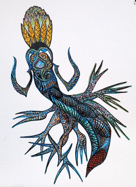 Oene van Geel - Insect Goddess